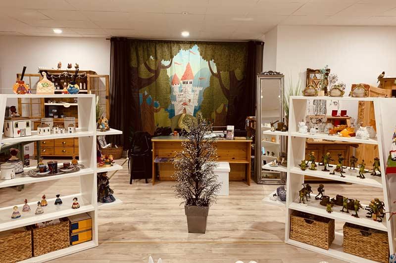 Eingangsbereich des Märchenladens in Bad Wildungen